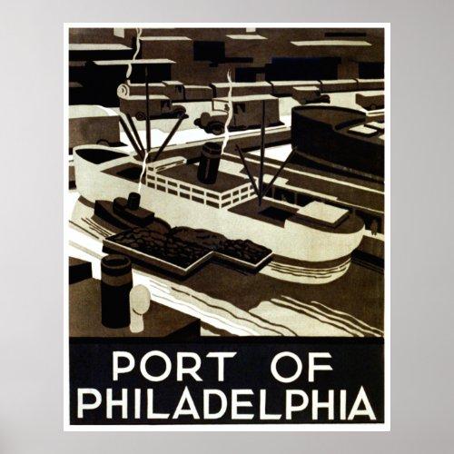 Port of Philadelphia WPA