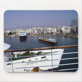 Port of Piraeus, Athens Mouse Pad