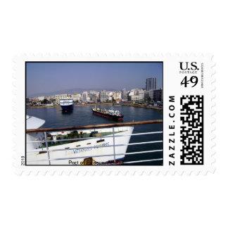Port of Piraeus, Athens Postage