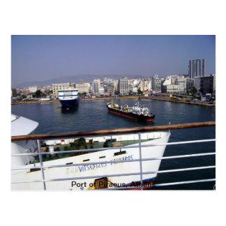 Port of Piraeus, Athens Postcard