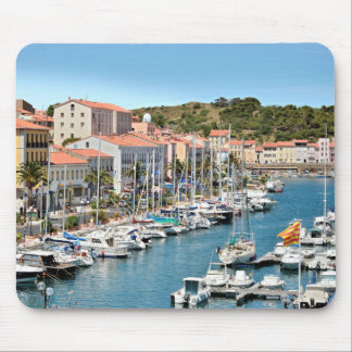 Port of Port-Vendres in France Mouse Pad