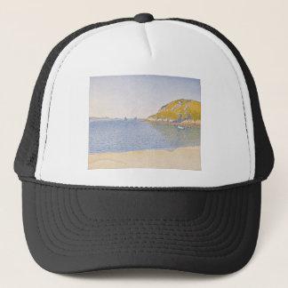 Port of Saint-Cast by Paul Signac Trucker Hat