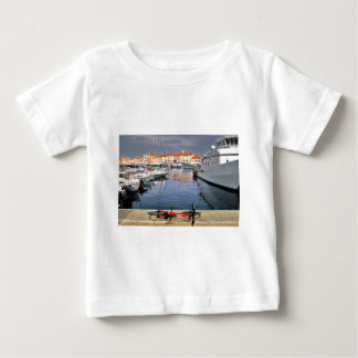 Port of Saint-Tropez in France Baby T-Shirt