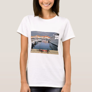 Port of Saint-Tropez in France T-Shirt