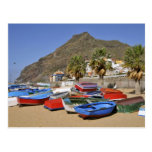 Port of San Andres at Tenerife Postcards