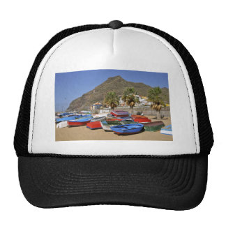 Port of San Andres at Tenerife Trucker Hat