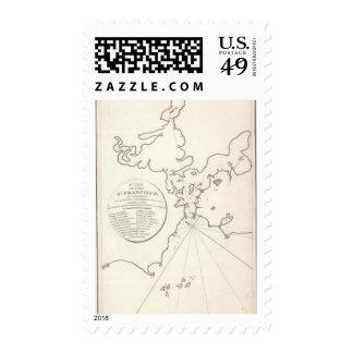 Port of San Francisco Postage Stamps