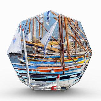 Port of Sanary-sur-Mer in France Acrylic Award
