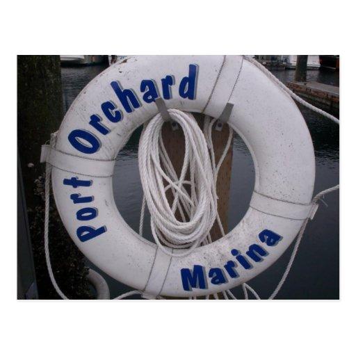 Port Orchard Marina Postcard