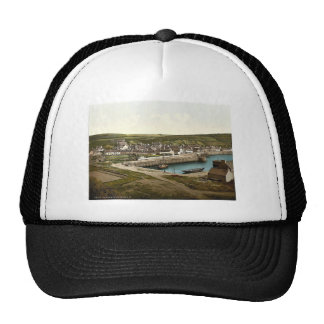 Port Patrick from the southwest, Scotland classic Trucker Hat