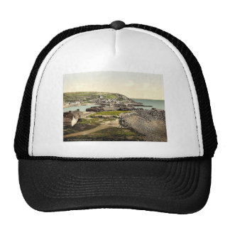 Port Patrick from the west, Scotland classic Photo Trucker Hat