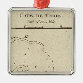 Port Praya, Cape de Verds Metal Ornament