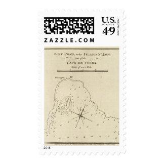 Port Praya, Cape de Verds Stamp