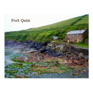 Port Quin Cornwall England Poldark Location Postcard