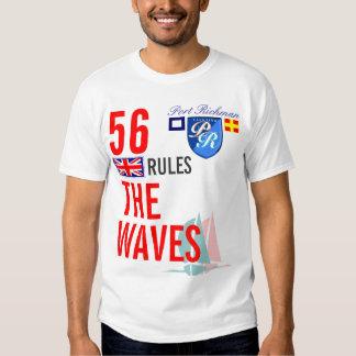Port Richman Britannia Rules The Waves Nautical UK T-Shirt