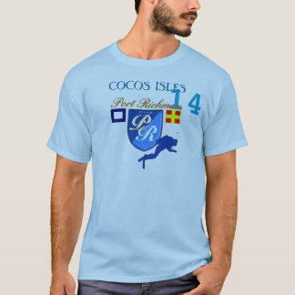 Port Richman Cocos Isles Diving Gear T-Shirt