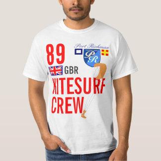 Port Richman Kitesurf GBR Great Britain Crew T-Shirt