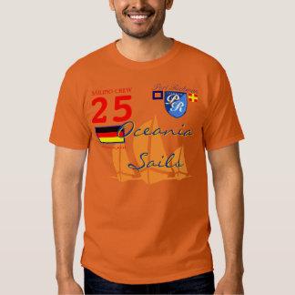 Port Richman Marine Oceania Sails Deutschland Flag Shirt