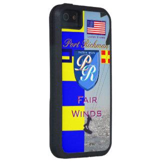Port Richman Nautical Kiteboarding USA Flag iPhone SE/5/5s Case