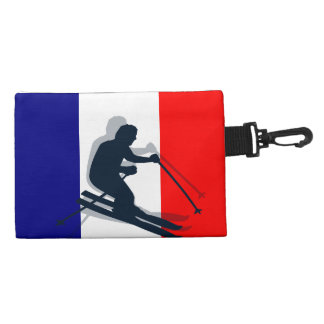 Port Richman Winter Sports Flag France Ski Gear Accessories Bag