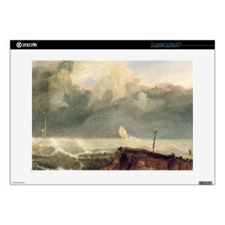 Port Ruysdael (oil on canvas) Laptop Skins