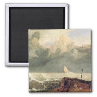 Port Ruysdael (oil on canvas) Refrigerator Magnet