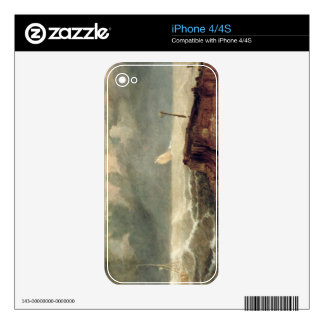 Port Ruysdael (oil on canvas) Skins For The iPhone 4S