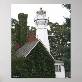 Port Sanilac Lighthouse Print
