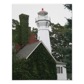 Port Sanilac Lighthouse Poster
