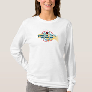 2f0eb93563c249 Port St Joe Strong Hurricane Michael T-Shirt