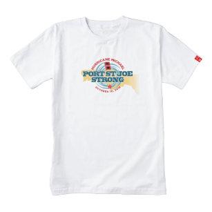 9ffdecb428fddc Port St Joe Strong Zazzle HEART T-Shirt