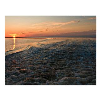 Port St Joe Sunset Postcard