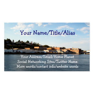 Port Townsend Double-Sided Standard Business Cards (Pack Of 100)