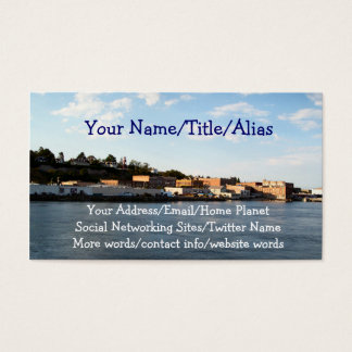 Port Townsend Business Card