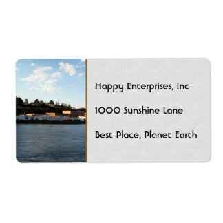 Port Townsend Shipping Label