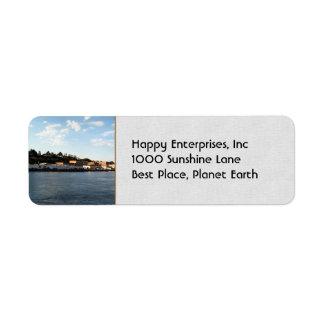 Port Townsend Return Address Label