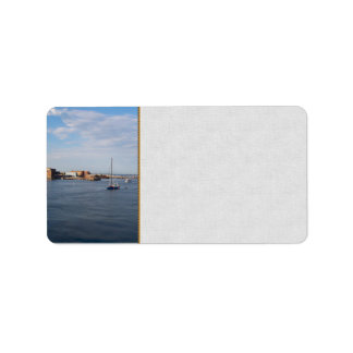 Port Townsend Moorage Address Label