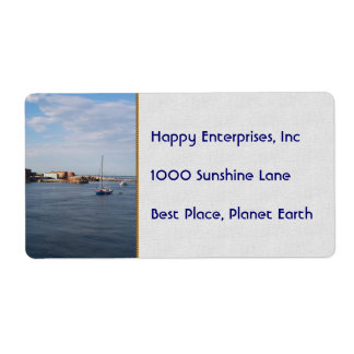 Port Townsend Moorage Shipping Labels