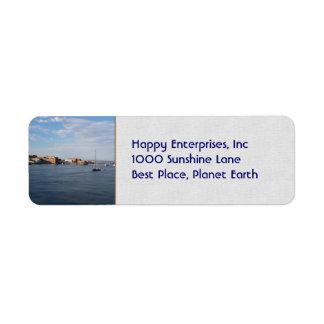 Port Townsend Moorage Return Address Label