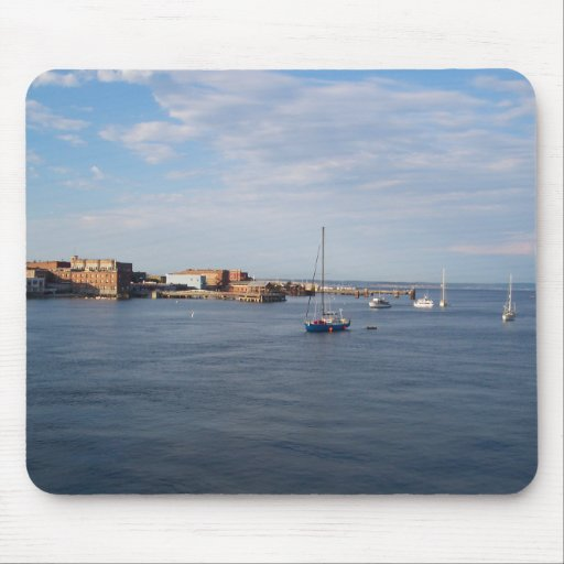 Port Townsend Moorage Mouse Pad