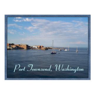Port Townsend Moorage Postcard