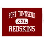 Port Townsend - Redskins - Senior - Port Townsend Greeting Card