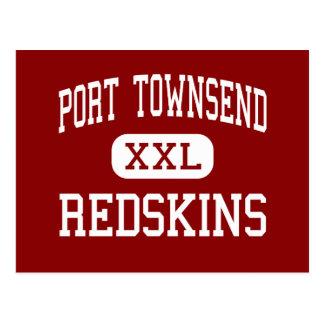 Port Townsend - Redskins - Senior - Port Townsend Postcard