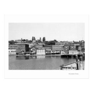 Port Townsend, WA Waterfront Town View Photograp Postcard