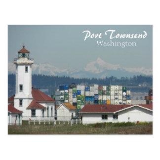 Port Townsend, Washington Travel Photo Postcard