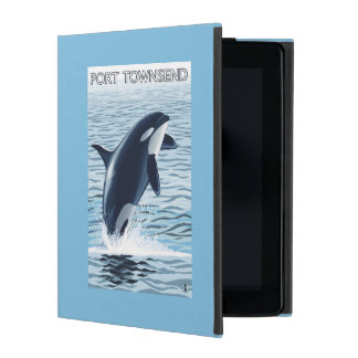 Port Townsend, WashingtonOrca Jumping iPad Folio Case