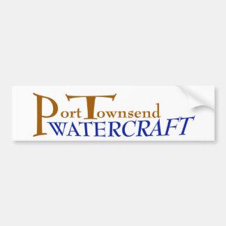 Port Townsend Watercraft decal Car Bumper Sticker