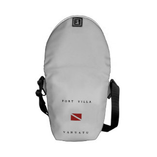 Port Villa Vanuatu Scuba Dive Flag Courier Bag
