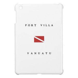Port Villa Vanuatu Scuba Dive Flag iPad Mini Cover