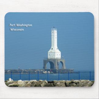 Port Washington Lighthouse Mouse Pad